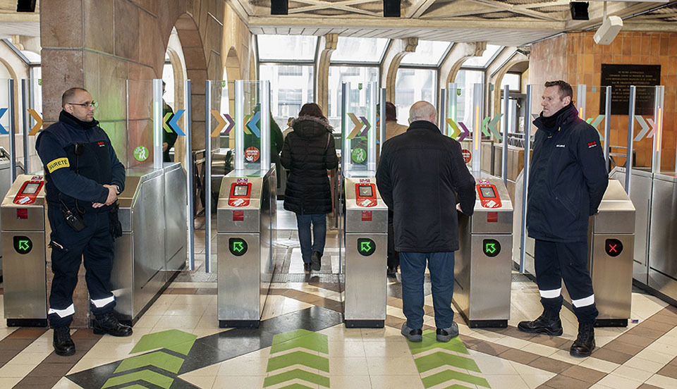 Securitas et Keolis : transports en commun